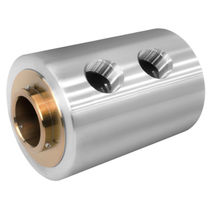 Raccordo girevole per acqua / a 2 passaggi / in acciaio inossidabile