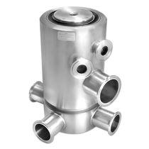 Raccordo girevole per olio / per gas / a 3 passaggi / in acciaio inossidabile