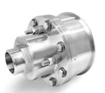Raccordo girevole per vapore / per alta temperatura / in acciaio inossidabile
