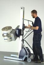 Sollevatore per cilindri / per avvolgitore / con presa / a batteria