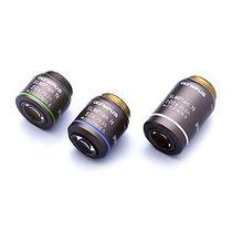 Obiettivo di microscopi piani acromatici