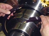 Guarnizione V-ring / di asta / polimerica / per albero girevole