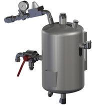 Serbatoio per acqua / metallo / verticale