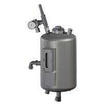 Serbatoio non specificato / metallo / pressurizzato / verticale
