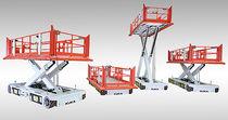 Piattaforma elevatrice a forbice mobile / idraulica