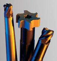 Utensile di fresatura di finitura / in carburo / per acciaio