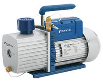 Pompa a vuoto a palette / lubrificata / bistadio / industriale