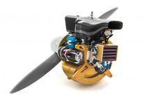 Motore termico monocilindro / ad iniezione diretta / raffreddato ad aria