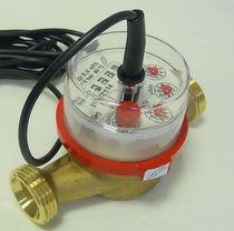 Misuratore di portata a turbina / per acqua / per prodotti chimici