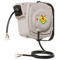 Avvolgitore per cavo elettrico / a richiamo automatico / fisso / orientabile