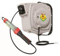 Avvolgitore per cavo elettrico / a richiamo automatico / chiuso / orientabile