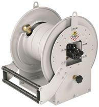 Avvolgitore per tubo / con motore idraulico / fisso / aperto