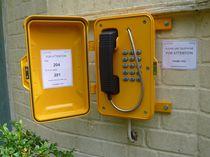 Telefono VoIP / IP67 / per applicazioni ferroviarie / per applicazioni marine