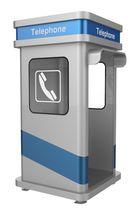 Cabina telefonica / acustica / per ambienti rumorosi / per area pericolosa