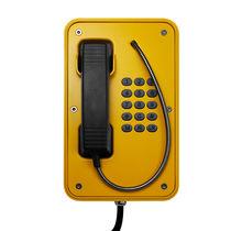 Telefono a tenuta stagna / antivandalismo / analogico / per applicazioni ferroviarie