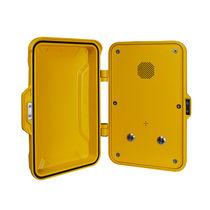 Telefono antivandalismo / a tenuta stagna / analogico / con porta di protezione
