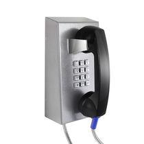 Telefono VoIP / IP67 / per applicazioni ferroviarie / in acciaio inossidabile