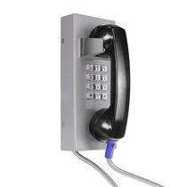 Telefono analogico / IP54 / per applicazioni ferroviarie / in acciaio inossidabile