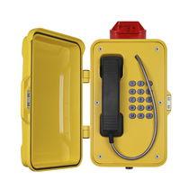 Telefono VoIP / IP66 / per applicazioni ferroviarie / per galleria