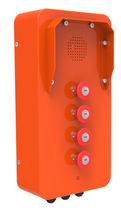 Telefono analogico / VoIP / IP65 / per applicazioni ferroviarie