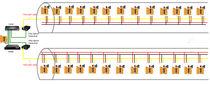 Sistema citofono di controllo accessi / per esterni / page / party line