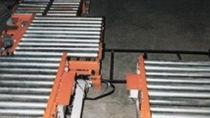Trasportatore da trasporto / a rulli / di pallet / stazionario