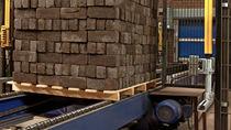 Trasportatore a catena / di pallet / per unità di calcestruzzo prefabbricato / stazionario