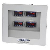 Sistema di sorveglianza di temperatura / di vibrazioni / a 4 canali
