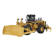 Bulldozer su ruote / per miniere e cave