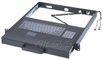 Tastiera montata su rack-cassetto / 106 tasti / con touchpad / compatta