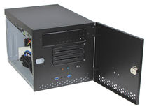 Case per PC a muro / compatto / 21 slot / industriale