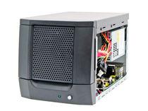 Case per PC compatto / a muro / per scheda madre mini-ITX / con box per disco duro con chisura a chiave
