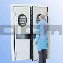 Porte battenti / in polietilene / in acciaio inossidabile / per l'industria agroalimentare