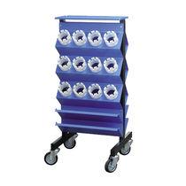 Carrello da officina / 3 livelli / portautensili / con rotelle