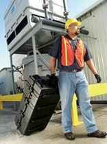 Valigia da trasporto / di acciaio / a tenuta stagna / indistruttibile