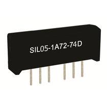 Relè reed 1NA / ad alta frequenza / SIL / DIP