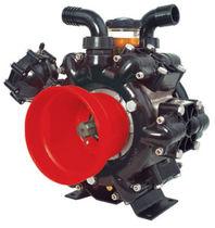 Pompa per prodotti chimici / a membrana / a spruzzo / a bassa pressione