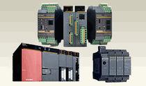 PLC su guida DIN / su rete Ethernet / di sicurezza / I/O