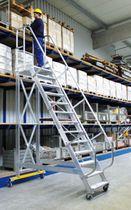 Scala in alluminio / mobile / per magazzino