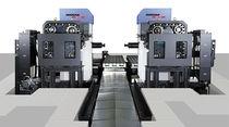 Alesatrice-fresatrice CNC / orizzontale / 4 assi / di alta precisione