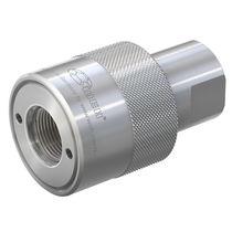 Raccordo rapido / dritto / idraulico / in NBR