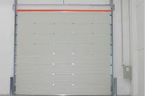 Porte sezionali / in metallo / industriali / da esterno