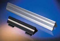 Rotaia in alluminio / per montaggio di componenti ottici