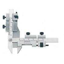 Calibro a corsoio Vernier / in acciaio inossidabile / per misurazione di ruote dentate