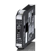 Amplificatore di potenza / elettronico / per cella di carico / su guida DIN