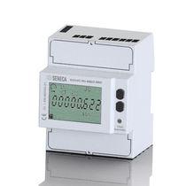 Contatore di energia elettrica monofase / trifase / su guida DIN / con registratore di dati