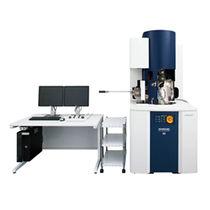 Microscopio elettronico a scansione con sonda ionica focalizzata / per analisi / 3D / in tempo reale