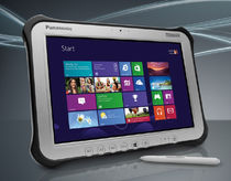 Tablet PC con touch screen multitouch / WiFi / indurito / IP65