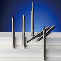 Fresa a codolo / integrale / CBN / per acciaio temperato
