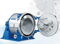 Centrifuga di processo / filtrante / orizzontale / raschiatore automatico